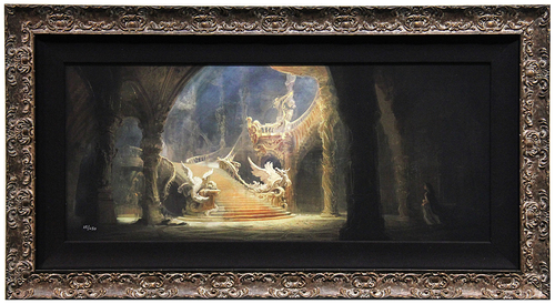 Morning Light in the Palace (framed), Beauty and the Beast  (2017)