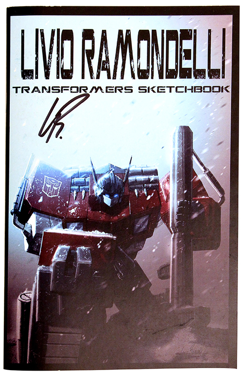 Livio Ramondelli: Transformers Sketchbook, Livio Ramondelli