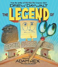 The Legend of Rock Paper Scissors, Adam Rex