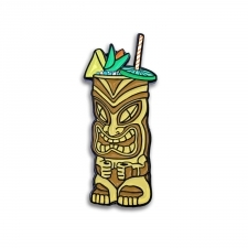 Tiki Drink Pin