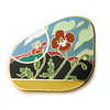 Alhambra Poppy Pin
