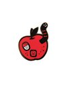 Bad Apple (enamel pin), The Little Friends of Printmaking