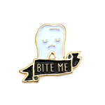 Bite Me (enamel pin), Alice & Doris Lieu