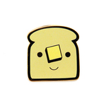 Buttered Toast (enamel pin), Nellie Le