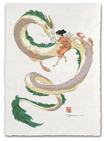 Guardian Spirit (Spirited Away) - Print, Jed Henry
