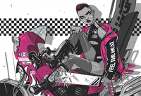 Motor Crush Cover, Babs Tarr