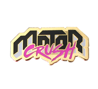 Motor Crush Pins (enamel pin), Babs Tarr