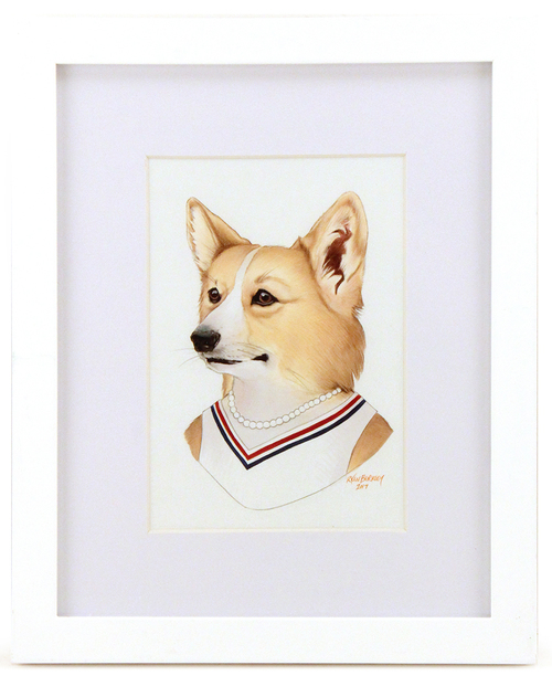 Corgi Lady, Ryan Berkley