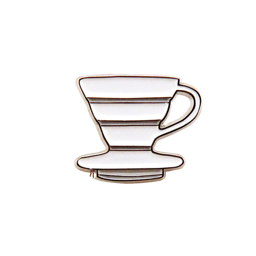Cone Coffee Enamel Pin