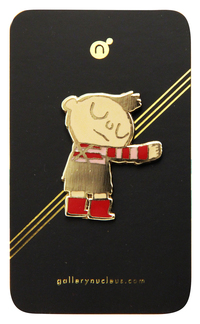 Scott C. Hug Machine Enamel Pin, scott c