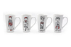Mary Blair Latte Mugs (Set of 4)