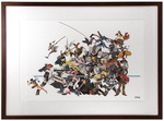 """Cavalry's Here"" by Arnold Tsang Printer's Proof (FRAMED), Blizzard Entertainment"