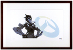 """Tracer"" by Arnold Tsang Printer's Proof (FRAMED), Blizzard Entertainment"