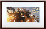 """Join Overwatch Today"" by Arnold Tsang, Ben Zhang, & Stephane Belin Printer's Proof (FRAMED), Blizzard Entertainment"