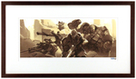 """Origins"" by Arnold Tsang Printer's Proof (FRAMED), Blizzard Entertainment"