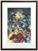 """Ultimate"" by Nesskain Printer's Proof (FRAMED), Blizzard Entertainment"