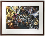 """One Year Anniversary"" by Nesskain Printer's Proof (FRAMED), Blizzard Entertainment"