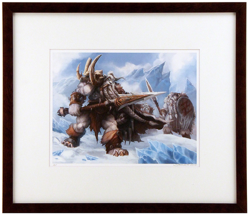 """Frostvang & The Bearzryk"" Artist Proof (FRAMED), Samwise Didier"