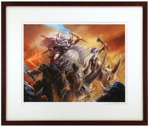 """Ghostmane's Charge"" Artist Proof (FRAMED), Samwise Didier"