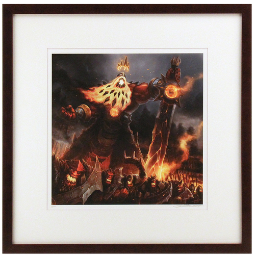 """King Sumyr and FireKin"" Artist Proof (FRAMED), Samwise Didier"
