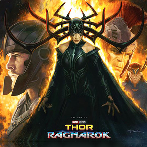 Art of Thor Ragnarok Book Signing