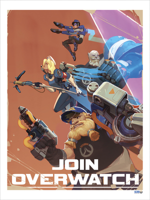 Join Overwatch Recruitment Poster (PRINT)
