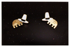 Jon Klassen We Both Have Hats Enamel Pin Set, Jon Klassen