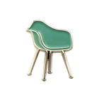 Shell Chair Enamel Pin