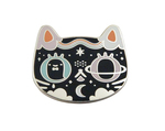 Mystical Kitty Pin, Crowded Teeth