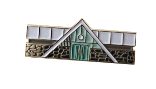 Swiss Miss Enamel Pin