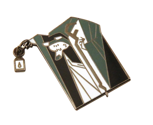 The Hermit Tarot Pin, David DePasquale