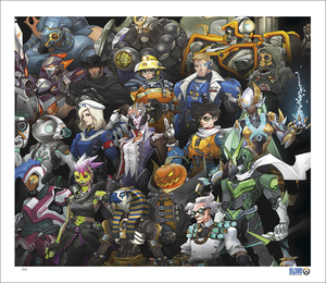 Legendary Heroes (PRINT) by Various Artists
