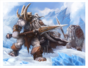 Frostvang & the Bearzyk (PRINT), Samwise Didier