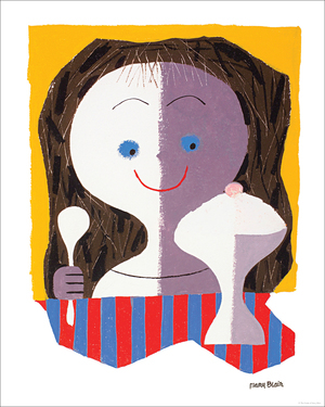 Ice Cream Girl, Mary Blair