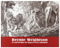 Bernie Wrightson Art & Design of Gang of Seven Animation, Bernie Wrightson