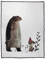 I Want My Hat Back Woven Blanket, Jon Klassen