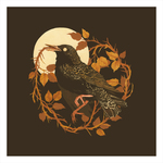 Moon Pallor Thicket (print), Teagan White