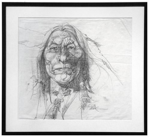 North American Indian #2, Bob Peak