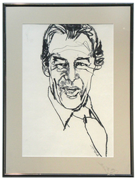 Portrait of Rex Harrison for My Fair Lady , Bob Peak