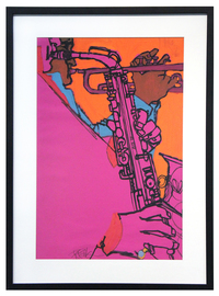 Saxophone Players, Bob Peak