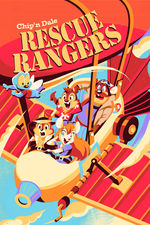 CYCLOPS PRINT WORKS: Rescue Rangers by Hackto Oshiro