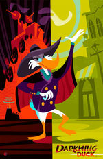 CYCLOPS PRINT WORKS: Darkwing Duck by Alan Bodner, Alan  Bodner