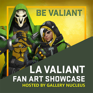 LA Valiant Fan Art Showcase