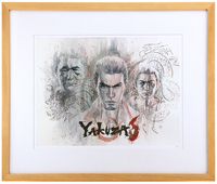 Yakuza 6 FRAMED Printers Proof, david  mack