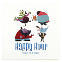 Happy Hour: The Art of Justin Rodrigues, justin rodrigues