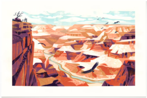 Grand Canyon (PRINT), Chris Turnham