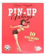Pin-Up Wings (Sticker Set)