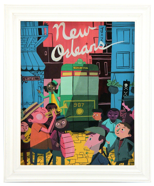 New Orleans, Oliver T Akuin