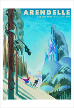 Arendelle See The North Mountain  (print), Eva Eskelinen