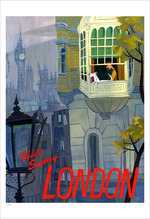 Visit Sunny London  (print), Jennifer Ely